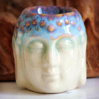 Aromalampe Buddha figur elfenben