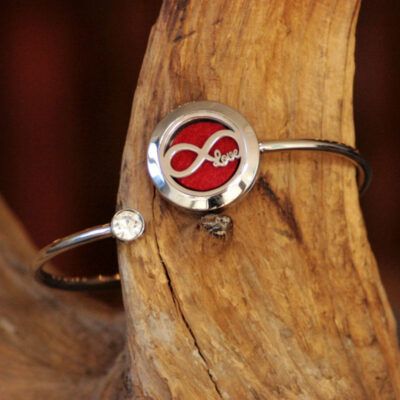 aromaterapi armbånd - uendelig kærlighed