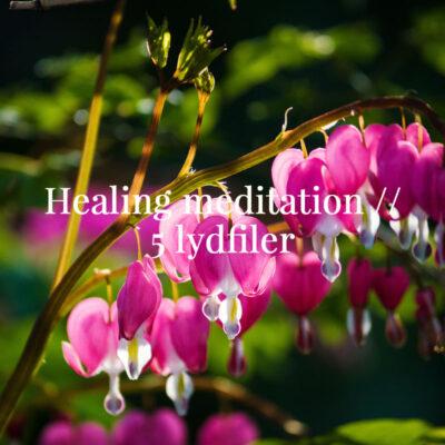 Healing meditation forløb