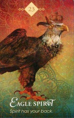 spirit animal tarotkort ørn