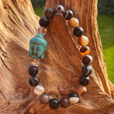 Buddha armbånd